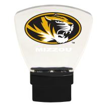 Authentic Street Signs NCAA Officially Licensed-LED Night Light-Super Energy Efficient-Prime Power Saving 0.5 watt, Plug in-Great Sports Fan Gift for Adults-Babies-Kids Room (Missouri Tigers)