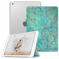 Fintie Case for iPad Mini 3/2 / 1 - Lightweight Smart Slim Shell Translucent Frosted Back Cover Protector Supports Auto Wake/Sleep for Apple iPad Mini 1 / Mini 2 / Mini 3, Shades of Blue