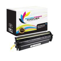 Smart Print Supplies Compatible 201X CF401X Cyan Premium High Yield Toner Cartridge Replacement for HP Laserjet Pro M252 M277 Printers (2,300 Pages)