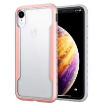 Lonlif Designed for iPhone XR Case with TPU Protective Case, Edge Shockproof Protection for iPhone XR 6.1 inch (Rose Gold)