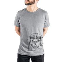 Barry The Saint Bernard Triblend T-Shirt