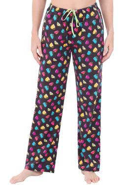 Long Novelty Cotton Pj Bottoms Alexander Del Rossa Womens Flannel Pajama Pants