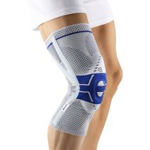 Bauerfeind - GenuTrain P3 - Knee Support - for Misalignment of The Kneecap - Left Knee - Size 1 - Color Titanium