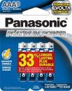 Panasonic Energy Corporation LR03XE/8B Platinum Power AAA Alkaline Batteries, Pack of 8