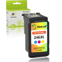 NineLeaf Remanufactured Ink Cartridge 246 Replacement Compatible for Canon CL-246XL 246XL CL-244 for Canon PIXMA MX492 MX490 MG2920 MG2922 MG2420 MG2520 IP2820 (Tri-Color,1 Pack)