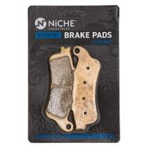 NICHE Brake Pad Set For Honda VTX1800S Goldwing GL1800 ST1100 Victory Vision Front/Rear Ceramic