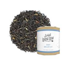 Simple Loose Leaf - Irish Breakfast Tea - Premium Loose Leaf Black Tea (4 oz) - High Caffeine - Smooth and Rich - USA Hand Packaged - 60 Cups