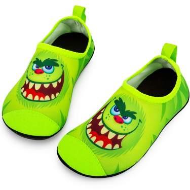 Crova Boys Girls Water Shoes Quick Dry Aqua Socks Non-Slip Barefoot Shoes