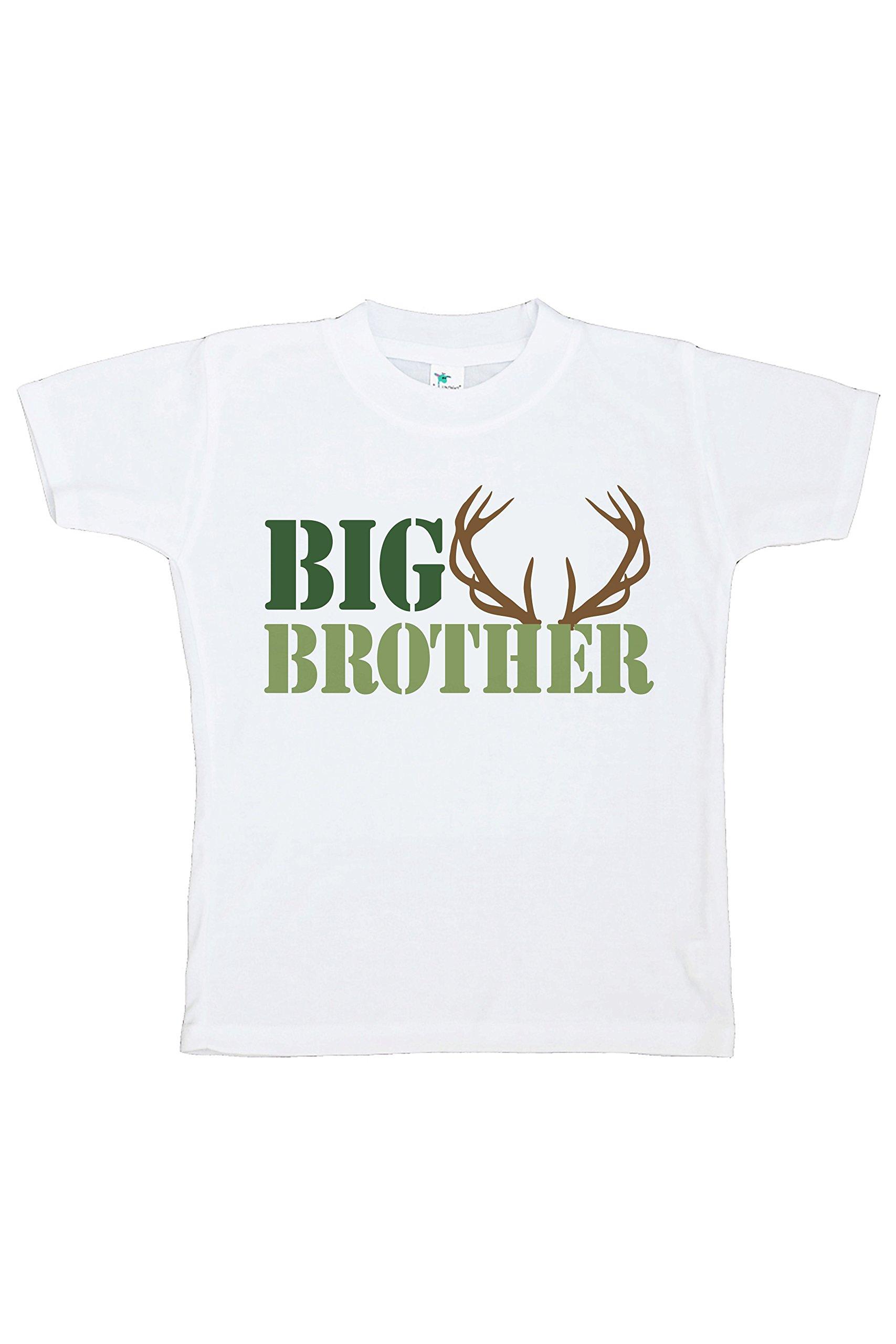 7 ate 9 Apparel Boy's Hunting Big Brother T-Shirt
