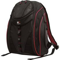Mobile Edge Express Backpack 2.0 16 inch/ 17 Inch Mac Black/Red Line Mebpe 72 MEBPE72