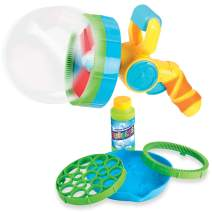 Bubble Gun for Toddlers that Makes Thousands of Bubbles for Kids - Bubble Blaster Maker Great for Indoor and Outdoor Activities - Bubble Toy with Non Toxic Bubble Solution
