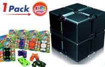 JA-RU Kubix Speed Infinity Fidget Cube Fidget Cube Flip It & Bouncy Ball Item #3802-1slp