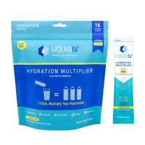 Liquid I.V. Hydration Lemon Lime Electrolyte Powder Drink Mix, 28 Count