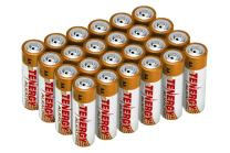 Tenergy 1.5V AA Alkaline Battery, High Performance AA Non-Rechargeable Batteries for Clocks, Remotes, Toys & Electronic Devices, AA Cell Batteries, 24-Pack