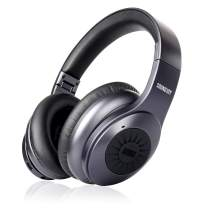 August Over Ear Bluetooth Wireless Noise Cancelling Headphones - EP765 Enjoy Bass Rich Sound and Optimum Comfort - Bluetooth v5.0 with aptX