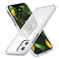 MATEPROX iPhone 11 Case Clear Thin Slim Crystal Transparent Cover Shockproof Bumper Case for iPhone 11 6.1(White)
