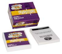 Harvest Time Partners Face to Face Transitions Teen Card Game (Middle to High School Edition) – Communication Development for Important Life Transitions, Ages 12 and Up
