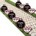 Big Dot of Happiness Flannel Fling Before the Ring - Ring Lawn Decorations - Outdoor Buffalo Plaid Bachelorette Party Yard Decorations - 10 Piece