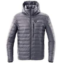Kelvin Coats Heated Jackets for Men | Incredibly Warm Puffer Coat with Battery