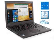 "Lenovo ThinkPad X270 Notebook, 12.5"" IPS HD, Intel Dual-Core i7-6600U Upto 3.4GHz, 16GB RAM, 256GB SSD, HDMI, Card Reader, Backlit Keyboard, Wi-Fi, Bluetooth, Windows 10 Pro"