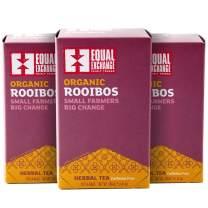 Equal Exchange Organic Rooibos Tea, 20-Count (Pack of 3)