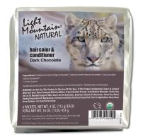 Light Mountain Natural Bulk Hair Color And Conditioner, Dark Chocolate