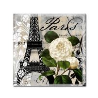 Paris Blanc I by Color Bakery, 18x18-Inch Canvas Wall Art