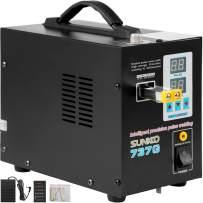 Mophorn 737G Pulse Spot Welder 0.2mm Battery Welding Machine 110V Battery Spot Welder and Soldering Station Portable Pulse Welding Machine for Battery Pack 18650 14500 Lithium Batteries