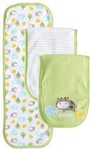 Gerber Unisex-Baby Newborn 3 Pack Terry Burp Cloths