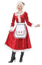 California Costumes Women's Classic Mrs. Claus Adult