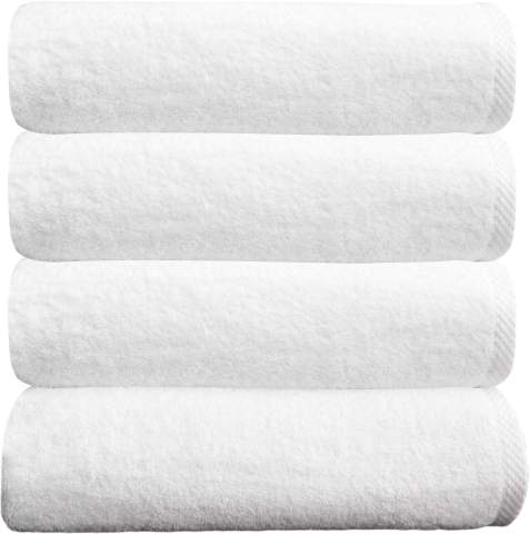 Royal Blue BY LORA Terry Cotton Hand Towels Set of 6
