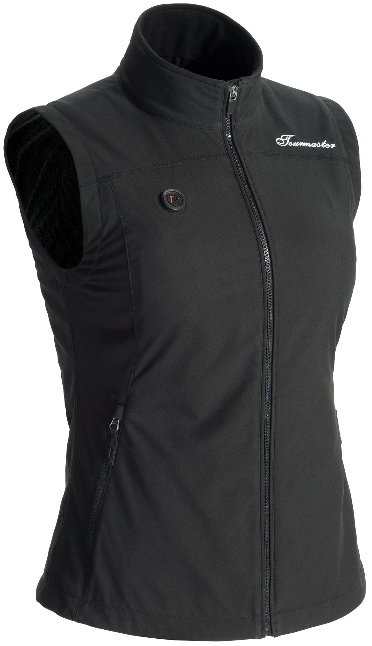 Tour Master Synergy 7.4V Women's Battery Heated Motorcycle Vest - Black, Small