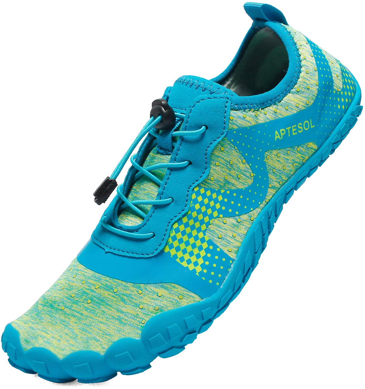 APTESOL Mens Athletic Water Shoes Barefoot Beach Inspired Minimalist Trail Runner Sneakers