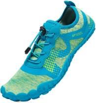 APTESOL Mens Athletic Water Shoes Barefoot Beach Inspired Minimalist Trail Runner Sneakers
