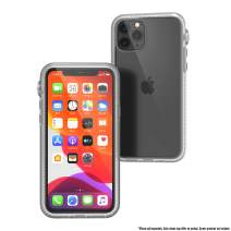 Catalyst - Case for iPhone 11 Pro Case with Clear Back, Heavy Duty 10ft Drop Proof, Truss Cushioning System, Rotating Mute Switch Toggle, Compatible with Wireless Charging, Lanyard Included - Clear