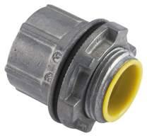 Halex, 2-1/2 in. Zinc Rigid Water Tight Conduit Hub , 16325B, 2 per pack
