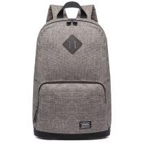 "Stylish School Bookbag Kaukko College Student Laptop Backpacks fit 14"" Laptops (Khaki 05-1)"