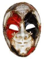 Venetian Full Face Mask Volto Jester Ron for Men
