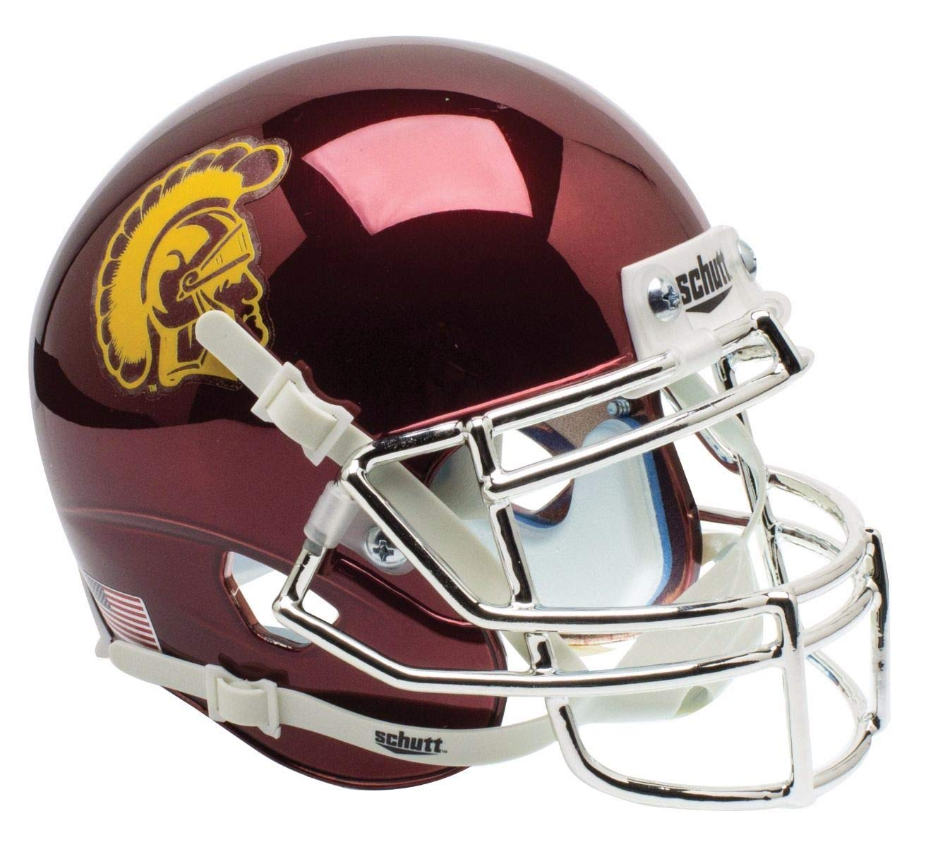 Schutt NCAA USC Trojans On-Field Authentic XP Football Helmet