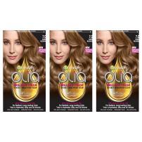 Garnier Hair Color Olia Oil Powered Permanent Hair Color, 7.0 Dark Blonde, (3 pack) (Packaging May Vary)