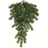"Vickerman 11755-30"" Douglas Fir 50 Clear DuraLit Miniature Lights Artificial Christmas Teardrop (A808807)"