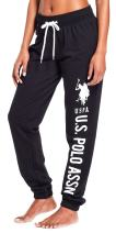 U.S. Polo Assn. Essentials Womens French Terry Jogger Lounge Sleep Sweatpants Pajamas