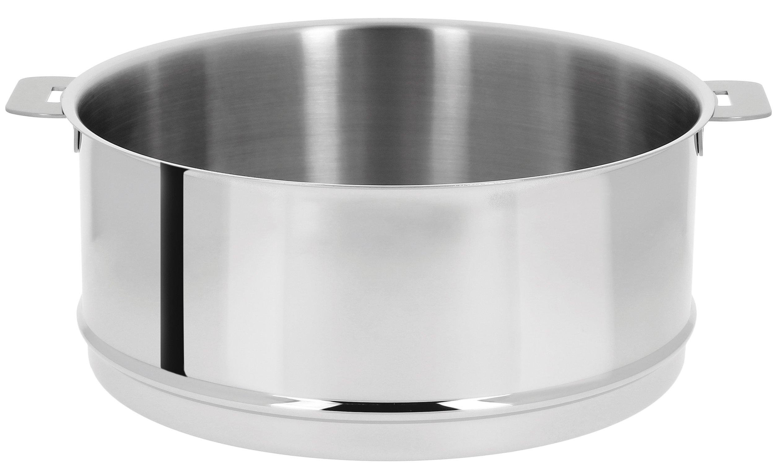 Cristel ECV26Q Steamer, 6.5 quart, Silver