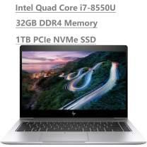 "2019 HP Elitebook 840 G5 14"" Full HD FHD Business Laptop (Intel Quad-Core i7-8550U,32GB DDR4, 1TB PCIe NVMe M.2 SSD) Fingerprint, Backlit, Thunderbolt, B&O Audio, HDMI, Windows 10 Pro"