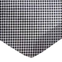 SheetWorld Fitted Portable / Mini Crib Sheet - Black Gingham Check - Made In USA