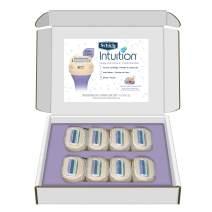 Schick Intuition Pure Nourishment Razor Blade Refills for Women with Coconut Milk & Almond Oil - 8 Count