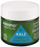 Essano Superfoods Certified Organic Kale Regenerating Night Crème, 50g