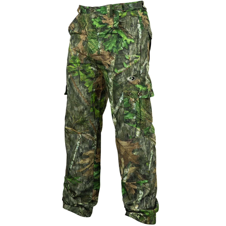 Mossy Oak Mens Men's Tibbee Technical Lightweight Camo Hunting Pants
