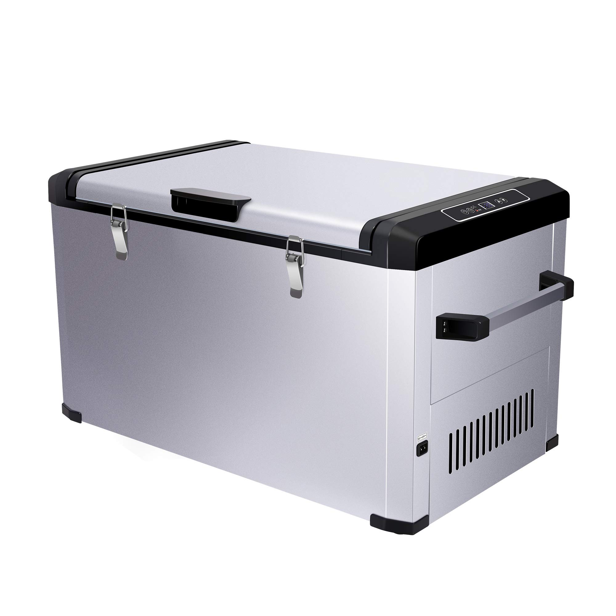 CIGREEN 63.4 Quart (60 Liter) Portable Refrigerator, Compressor Electric Powered Portable Cooler, Fridge/Freezer for Camping, Travelling, Outdoor and Home Use -12/24V DC and 110-240 AC, DC-60F …