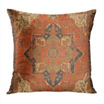 Suike Flying Carpet Ride Plush Hidden Zipper Home Sofa Decorative Throw Pillow Cover Cushion Case Square Pillowcase 20x20 Inch Two Sides Design Printed Furniture Durable
